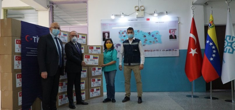 TURKISH AGENCY TIKA DELIVERS HUNDREDS OF AID PACKAGES TO NEEDY FAMILIES IN VENEZUELA