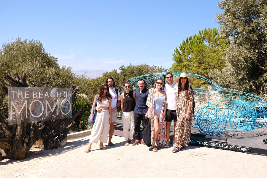 THE BEACH OF MOMO'DA MERCEDES-EQ İLE KAPANIŞ