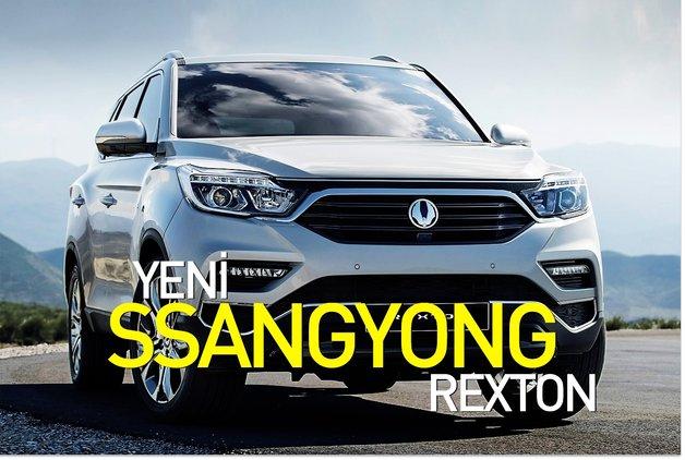Yeni SsangYong Rexton