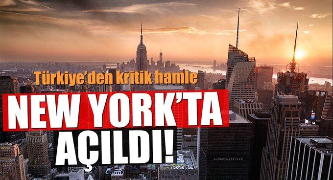New Yorkta Türkiye Ticaret Merkezi açıldı
