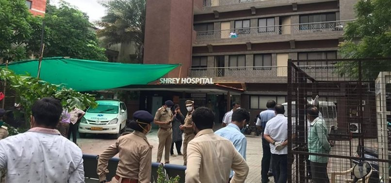 5 COVID-19 PATIENTS KILLED IN HOSPITAL FIRE IN INDIA