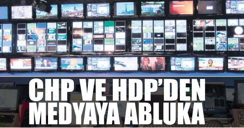 CHP ve HDP'den medyaya abluka