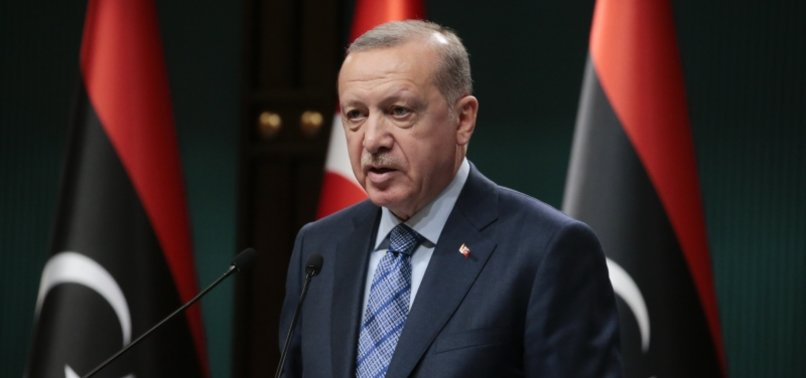 TURKEYS ERDOĞAN VOWS TO INCREASE SUPPORT FOR LIBYAN GOVERNMENT