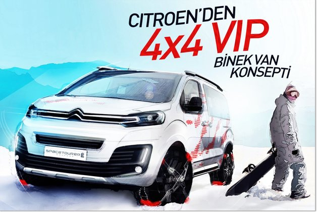Citroen'den 4×4 VIP binek Van konsepti