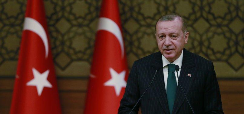 TURKEYS GROWTH IN 2018 SHOULD TOP ESTIMATES: ERDOĞAN