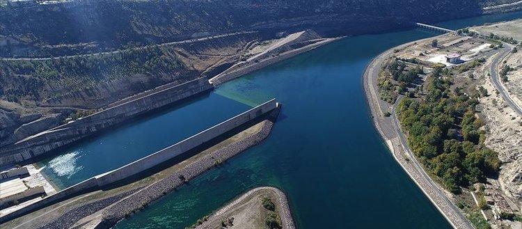Türkiye'nin 3 büyük barajında enerji üretimi artışı
