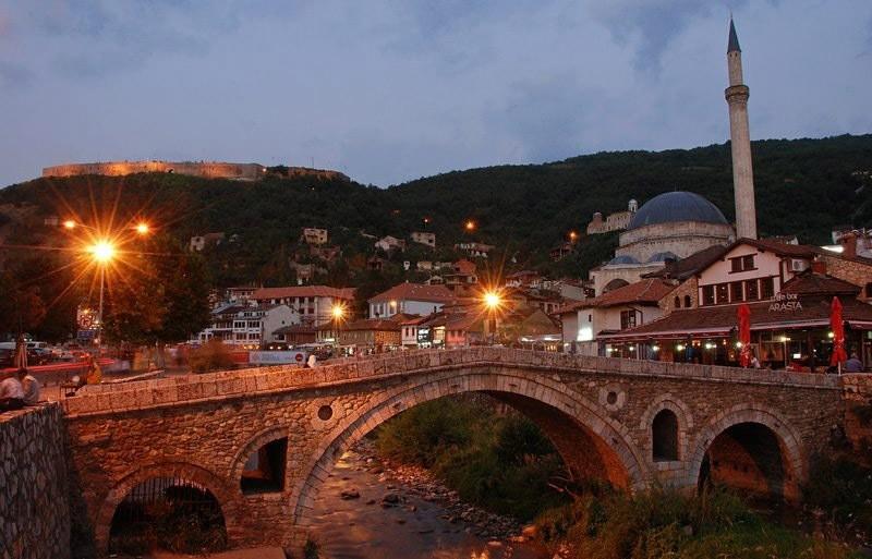 A view of Prizren city. (Daily Sabah)