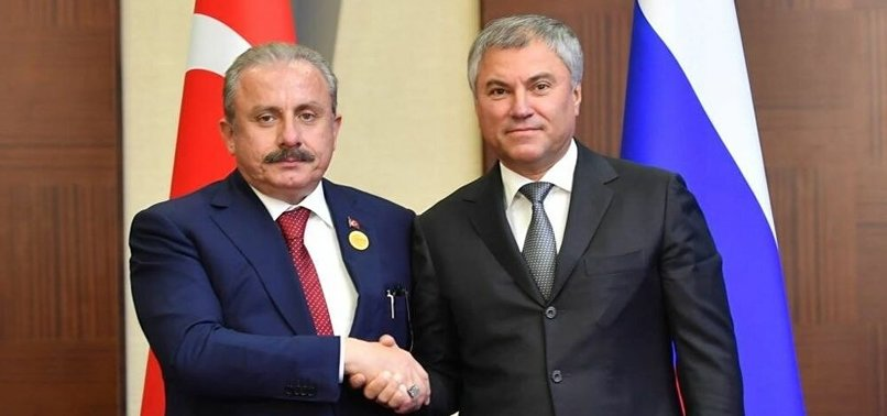 RUSSIA CONGRATULATES TURKEY FOR PARLIAMENTS CENTENARY