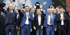 Europe's far-right leaders unite, vow to challenge European project