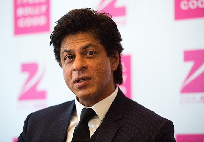 Indian Bollywood actor Shah Rukh Khan speaks during a press conference on the new Bollywood channel 'Zee.One' at the Bayerischer Hof hotel in Munich, Germany, 28 July 2016. (EPA Photo)