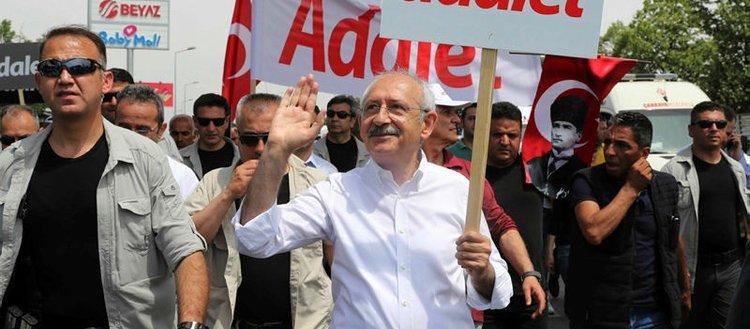 Kılıçdaroğlu'nun yürüyüşü cezaevi önünde bitecek