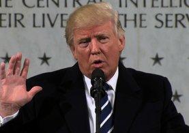 Trump'ın ilk ziyareti CIA merkezine oldu
