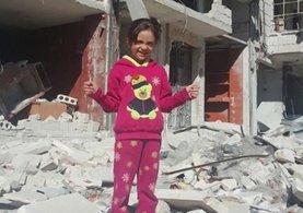 Sosyal medyadan Halep'teki katliamları duyuran küçük Bana yeniden ses verdi