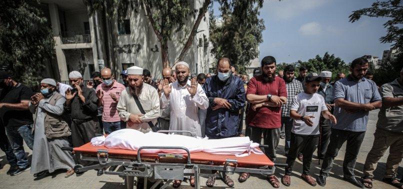 AMMUNITION LEFT BY ISRAELI FORCES IN GAZA KILLS BOY