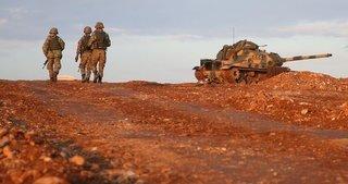 El bab'da 1 asker şehit, 2 asker yaralandı