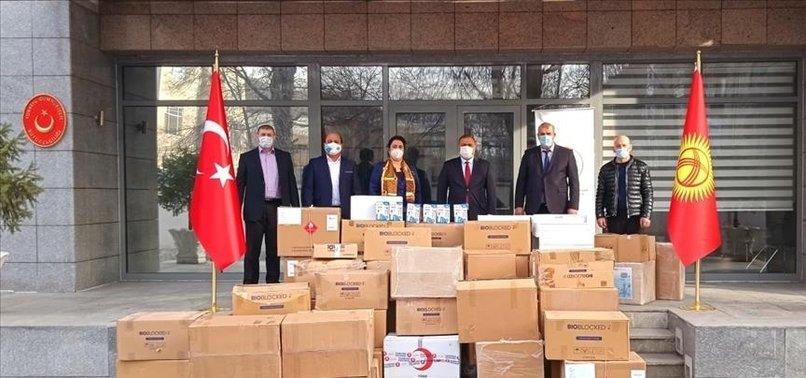 TURKEY SENDS MEDICAL AID FOR AHISKA TURKS IN KYRGYZSTAN
