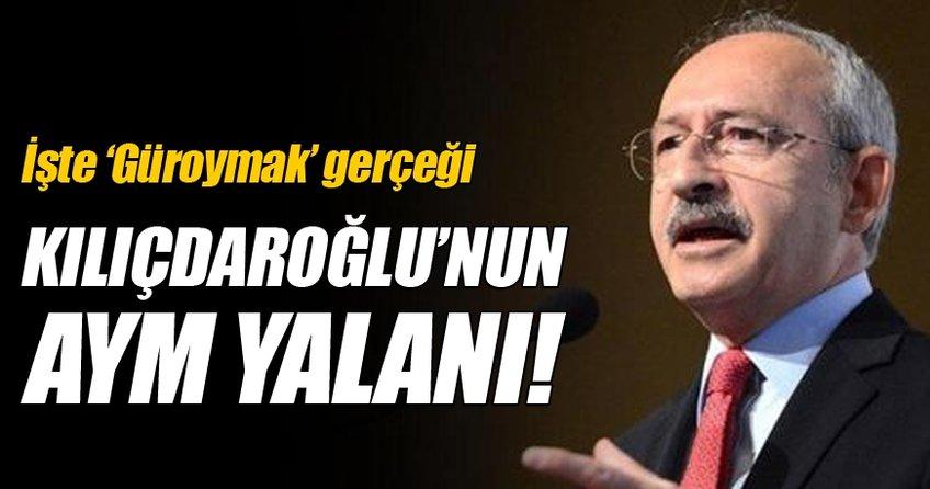 Kılıçdaroğlu'nun Güroymak iddiası yalan çıktı