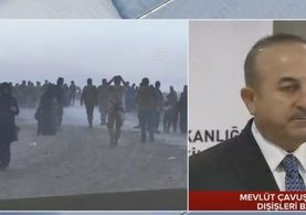 Dışişleri Bakanı Çavuşoğlu: Taciz ateşlerinin açıldığı söyleniyor