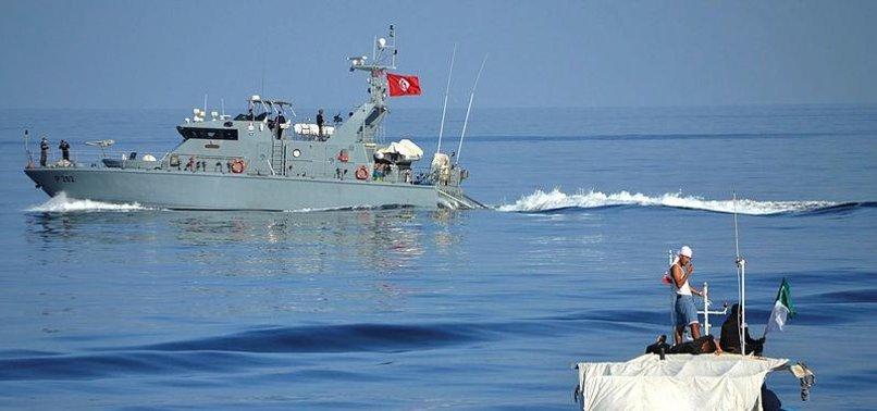 TUNISIA RESCUES 166 MIGRANTS AT SEA, 16 DEAD