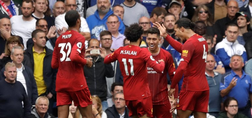 LIVERPOOL 5 POINTS CLEAR AT TOP AFTER BEATING CHELSEA 2-1