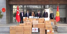 Turkey sends medical aid for Ahiska Turks in Kyrgyzstan