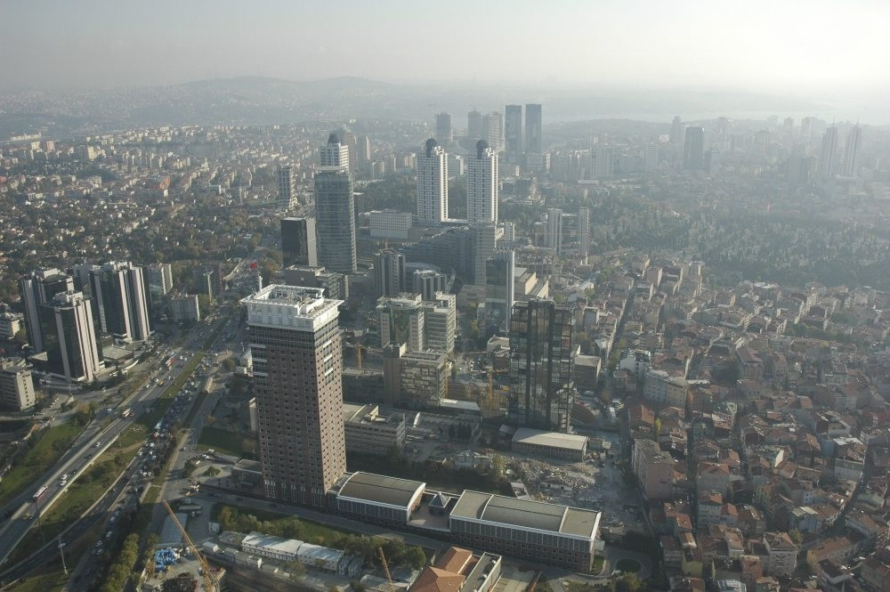 Skyscrapers in the Levent district.