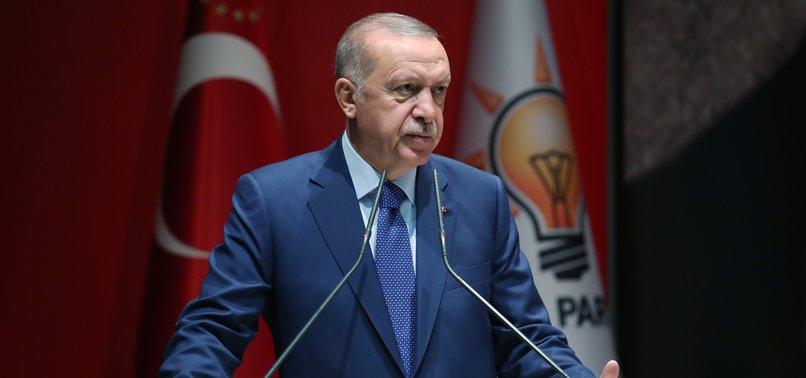 TURKEY WILL INITIATE SYRIA SAFE ZONE BY END-SEPTEMBER, PRESIDENT ERDOĞAN SAYS