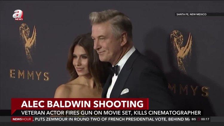 Veteran actor Alec Baldwin fires gun on movie set, kills cinematographer