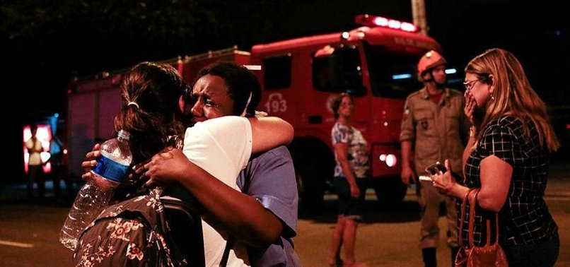 DEATH TOLL IN BRAZIL HOSPITAL FIRE RISES TO 10