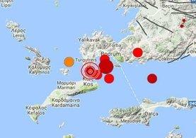 Kandilli Rasathanesi Ege'deki depremle ilgili açıklama yaptı
