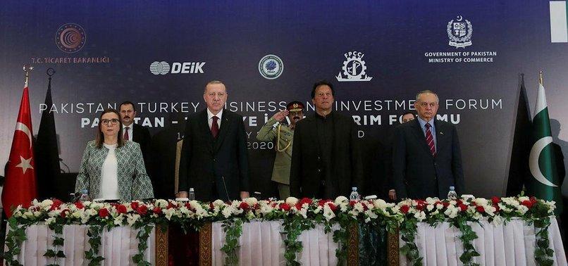 TURKEY, PAKISTAN AGREE ON STRATEGIC ECONOMIC FRAMEWORK