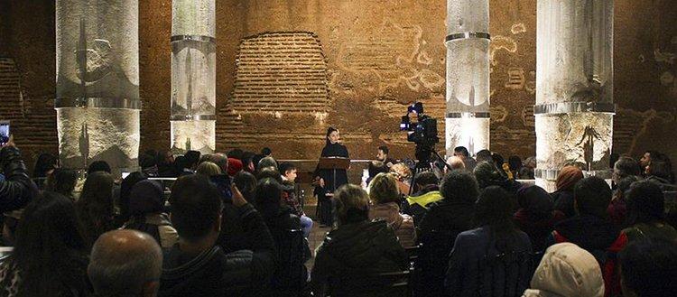 Şerefiye Sarnıcı'nda 'Yunus Emre Aşka Yolculuk' konseri icra edildi
