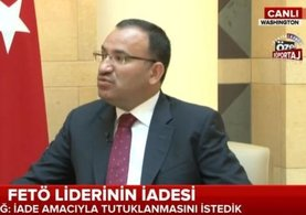Adalet Bakanı Bekir Bozdağ'dan FETÖ elebaşının iadesine ilişkin flaş açıklamalar
