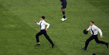 Pussy Riot claims pitch invasion at World Cup final