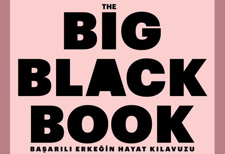 THE BIG BLACK BOOK ÇIKTI!