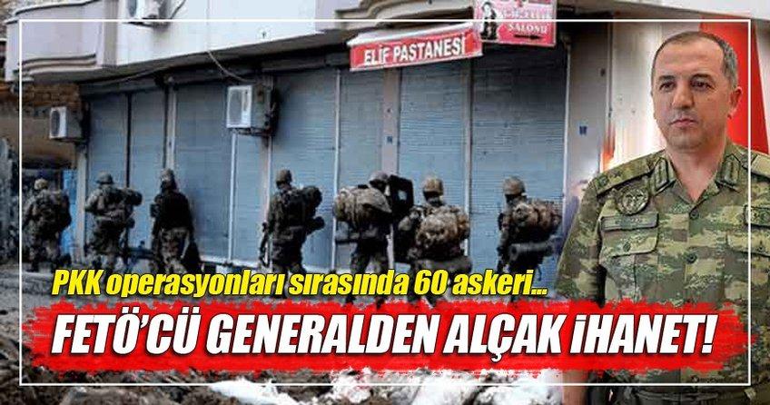 FETÖ'cü hain general askerleri PKK'nın tuzağına atmış