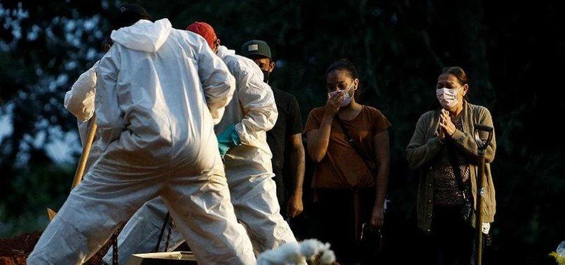 BRAZIL SEES 14,288 NEW CORONAVIRUS CASES, 525 DEATHS