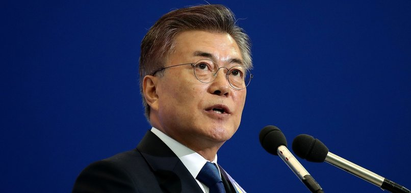 S.KOREAS MOON SAYS NORTHS CRITICISM OF U.S. A NEGOTIATING STRATEGY