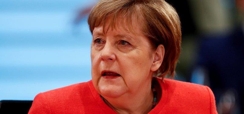 MERKEL CALLS FOR EXTRAORDINARY GERMAN SOLIDARITY WITH EU PEERS