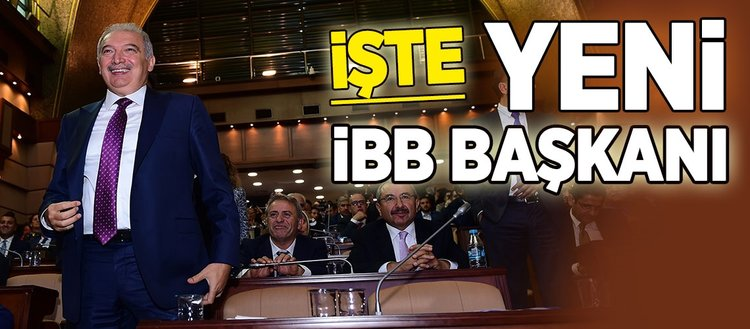 İstanbul'un yeni Belediye Başkanı seçildi