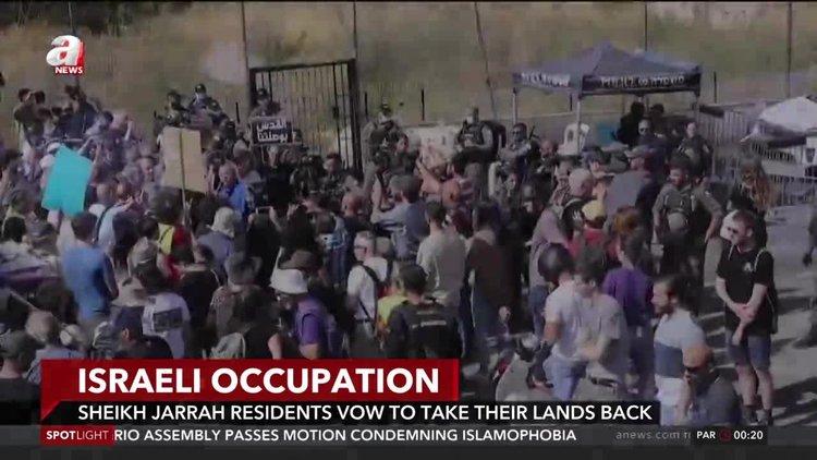 Sheikh Jarrah locals vow to take their lands back