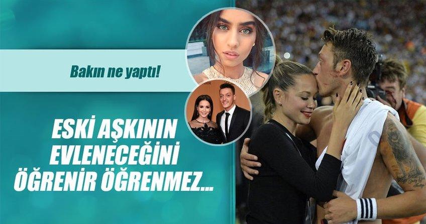 Mesut Özilin eski aşkı Amine Gülşeyi kızdırdı