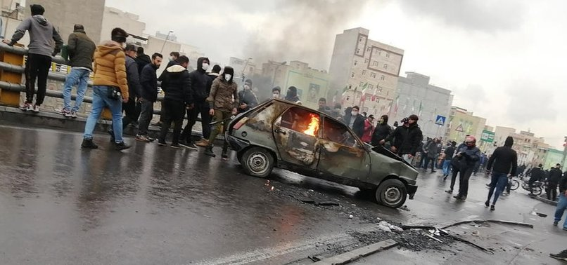 IRANIAN POLICEMAN KILLED IN CLASHES AMID FUEL PROTESTS