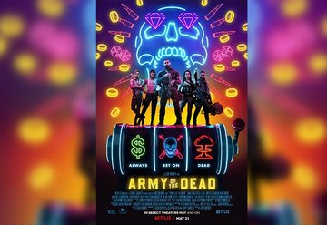 Zack Snyder İmzalı Army of The Dead Posteri