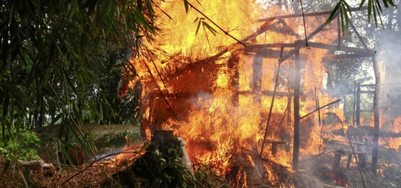 HUMAN RIGHTS WATCH SEEKS URGENT PROBE INTO BURNING OF ROHINGYA VILLAGE