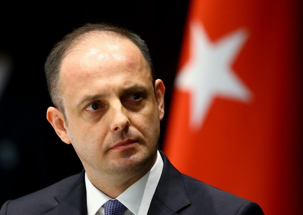 Turkish Central Bank Governor Murat u00c7etinkaya