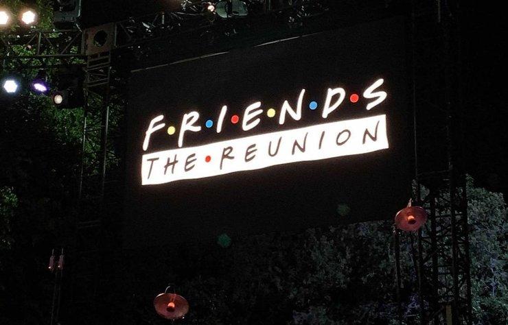 Friends Özel Bölümünün Çekimleri Başladı