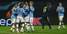 Jesus hat-trick lifts Man City's mood in Zagreb