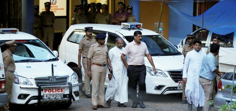 INDIAN BISHOP CHARGED WITH REPEATEDLY RAPING NUN