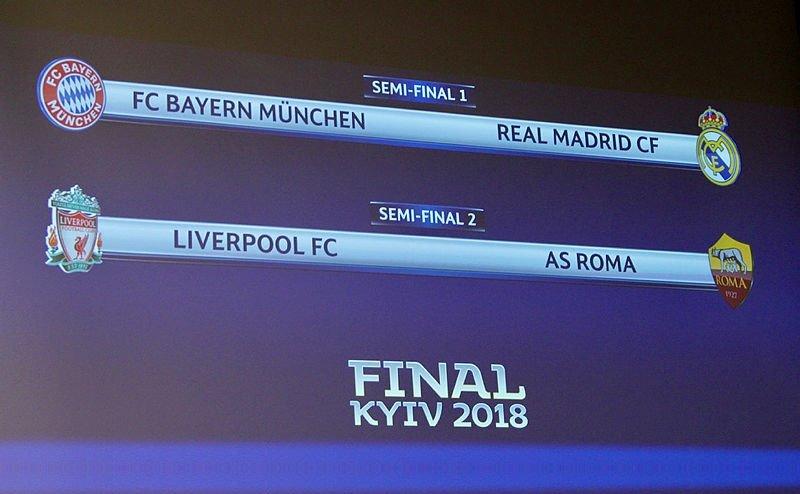 UEFA ŞAMPİYONLAR LİGİ YARI FİNAL EŞLEŞMELERİ BELLİ OLDU